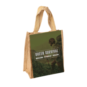 Green Survival (Jute A5 Hengsel)
