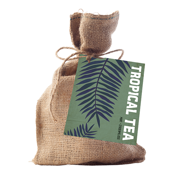 Tropical Tea Jute A6