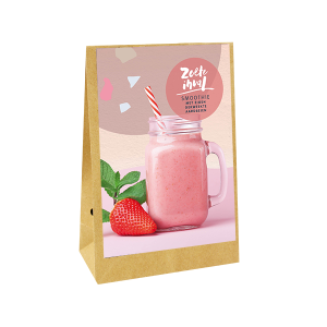 zoete inval aarbeien smoothie